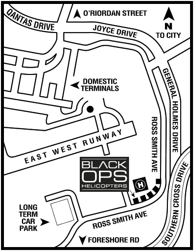 Black Ops Helicopters Location