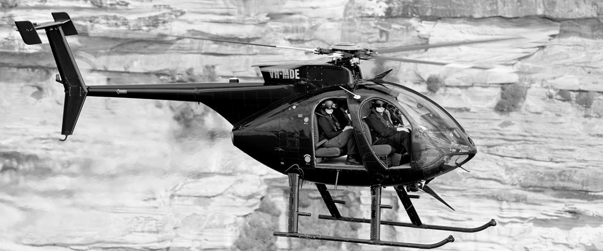 Black Ops Helicopters MD500E Photo