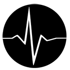 Black Ops heartbeat icon